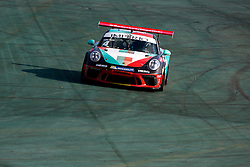 July 27, 2018 - Sao Paulo, Sao Paulo, Brazil - Car #4 in action during the free practice session for the 5th stage of the 2018 Brazilian Porsche GT3 Cup championship, which takes place on Saturday, 28 at Interlagos circuit in Sao Paulo, Brazil. (Credit Image: © Paulo Lopes via ZUMA Wire)