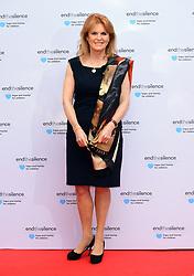 Sarah Ferguson, Duchess of York attending the End the Silence Charity Fundraiser at Abbey Road Studios, London.