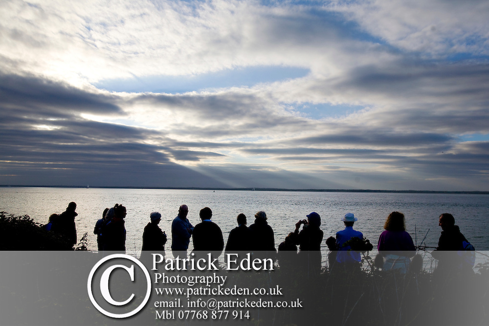 The Solent, Walking Festival, Dog Walkers, Hampstead, Shalfleet, Isle of Wight, England Photographs of the Isle of Wight by photographer Patrick Eden photography photograph canvas canvases