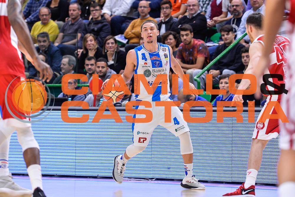 Scott Bamforth<br /> Banco di Sardegna Dinamo Sassari - Olimpia EA7 Emportio Armani Milano<br /> LegaBasket LBA Poste Mobile 2017/2018<br /> Sassari, 29/10/2017<br /> Foto L.Canu / Ciamillo-Castoria