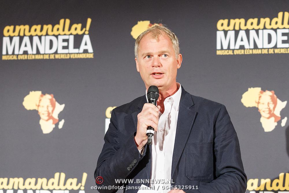 NLD/Amsterdam/20151026 - perspresentatie musical Amandla! Mandela , Regisseur Koen van Dijk