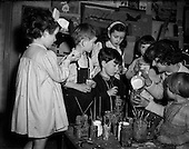 1953 - Children's Art Studio at Mrs Sheila Fitzgerald's, Frankfort Avenue, Rathgar