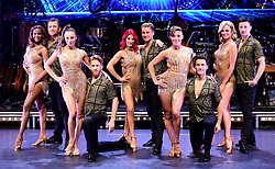 Oti Mabuse, Pasha Kovalev, Katya Jones, Neil Jones, Dianne Buswell, AJ Pritchard, Karen Clifton, Gorka Marquez, Nadiya Bychkova and Giovanni Pernice attending the Strictly Come Dancing Professionals UK Tour at Elstree Studios, London.
