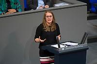DEU, Deutschland, Germany, Berlin, 15.03.2018: Katharina Dröge (B90/Die Grünen) bei einer Rede im Deutschen Bundestag.