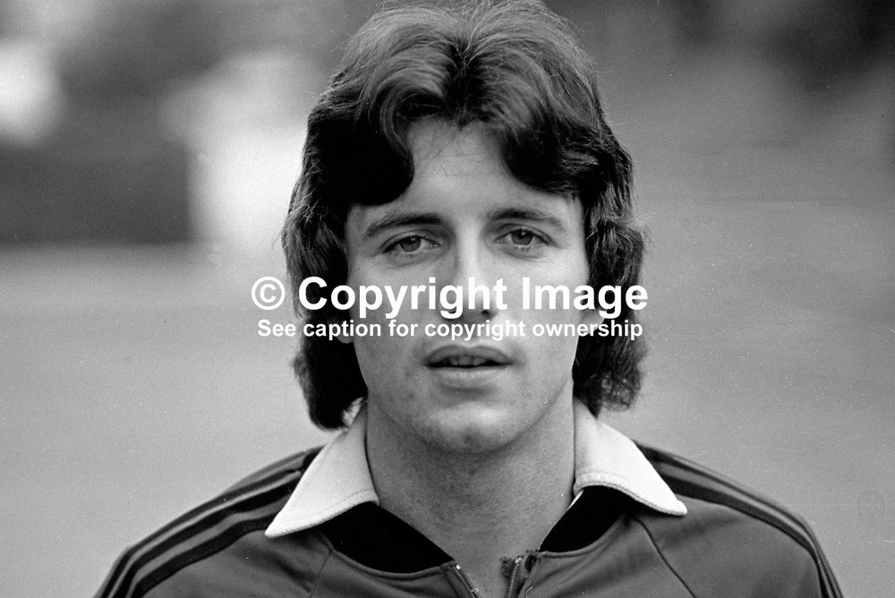 Terry Cochrane, soccer player, footballer, Middlesborough FC, N Ireland international, during training session before N Ireland v Portugal match. 198011000368c<br /> <br /> Copyright Image from Victor Patterson, 54 Dorchester Park, Belfast, UK, BT9 6RJ<br /> <br /> t: +44 28 90661296<br /> m: +44 7802 353836<br /> vm: +44 20 88167153<br /> e1: victorpatterson@me.com<br /> e2: victorpatterson@gmail.com<br /> <br /> For my Terms and Conditions of Use go to www.victorpatterson.com