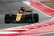 October 19-22, 2017: United States Grand Prix. Nico Hulkenberg (GER), Renault Sport Formula One Team, R.S.17