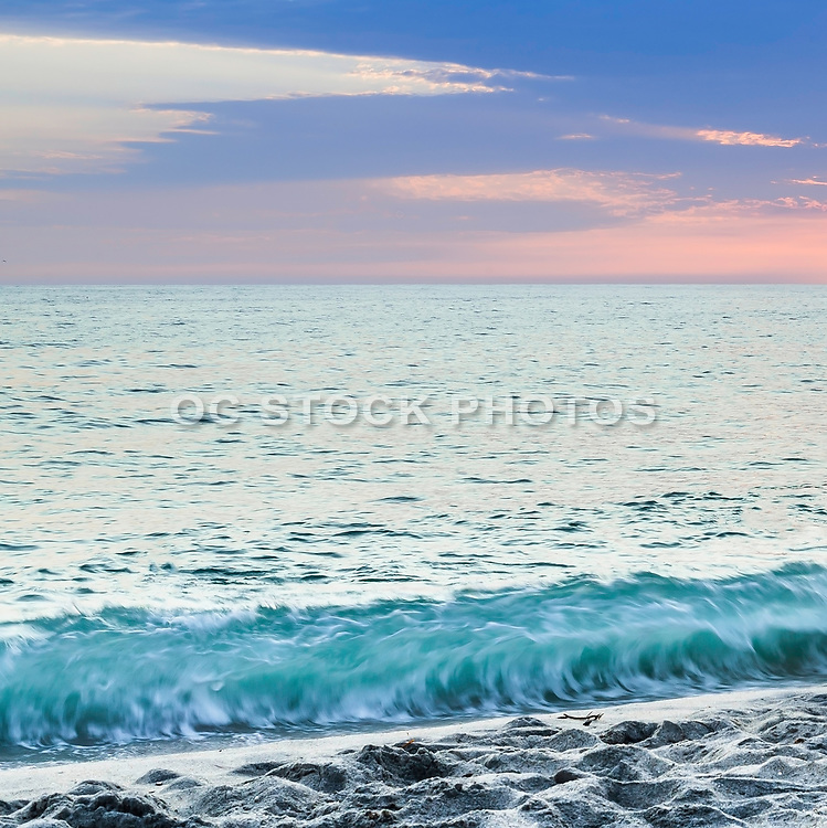 Sunset At Tamarac Beach In Carlsbad