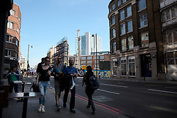 UK ENGLAND LONDON 20APR15 - <br /> <br /> Street view of City Road and ongoing construction projects.<br /> <br /> jre/Photo by Jiri Rezac<br /> <br /> © Jiri Rezac 2015