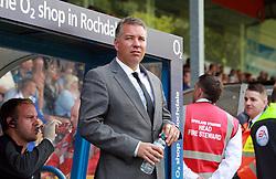 Peterborough United Manager, Darren Ferguson - Photo mandatory by-line: Joe Dent/JMP - Mobile: 07966 386802 09/08/2014 - SPORT - FOOTBALL - Rochdale - Spotland Stadium - Rochdale AFC v Peterborough United - Sky Bet League One - First game of the season