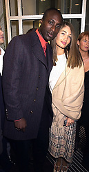 MR & MRS OZWALD BOATENG, he is the top fashion designer, at a party in London on 1st November 2000.OIP 92