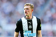 Sean Longstaff (#36) of Newcastle United during the Premier League match between Newcastle United and Watford at St. James's Park, Newcastle, England on 31 August 2019.