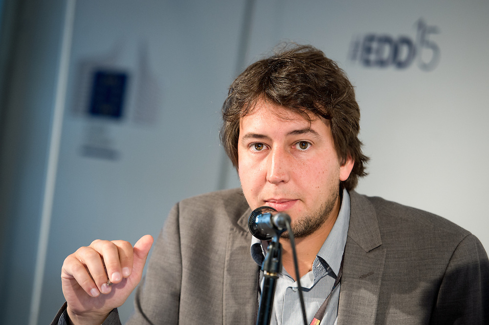 04 June 2015 - Belgium - Brussels - European Development Days - EDD - Urban - Urban journalism academy - Media training © European Union