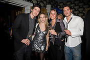 ALEX BRODKIN AND ALLEGRA FELTZ, FIA TARRANT AND CHARLIE GREGORY, Bingo Lotto launch party. Soho Hotel Richmond Mews. London. 29 February 2008.  *** Local Caption *** -DO NOT ARCHIVE-© Copyright Photograph by Dafydd Jones. 248 Clapham Rd. London SW9 0PZ. Tel 0207 820 0771. www.dafjones.com.