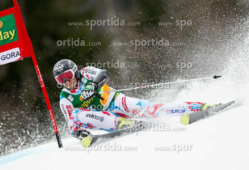 FANARA Thomas of France competes during the 1st Run of 7th Men's Giant Slalom - Pokal Vitranc 2013 of FIS Alpine Ski World Cup 2012/2013, on March 9, 2013 in Vitranc, Kranjska Gora, Slovenia. (Photo By Vid Ponikvar / Sportida.com)