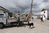 Mongolia. Hahorin . The mazrket    /  Karakorum . Le marche.