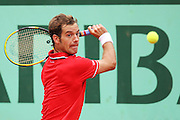 Roland Garros 2011. Paris, France. May 27th 2011..French player Richard GASQUET against Thomaz BELLUCCI