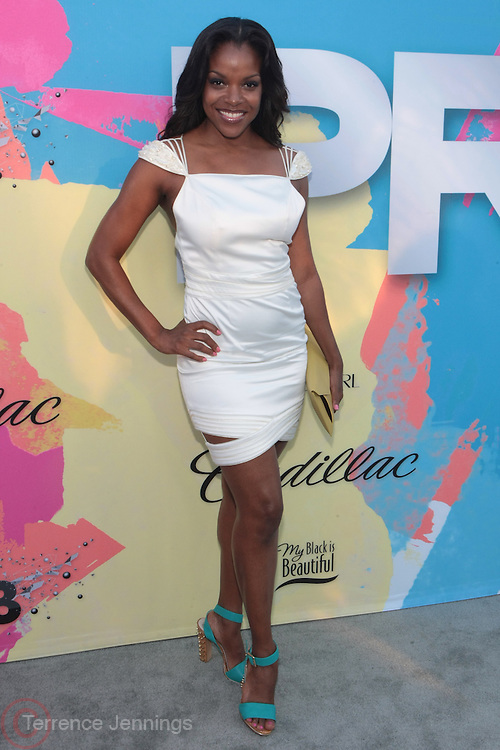 "Los Angeles, CA-June 29:  Actress Nadine Ellis attends the Seventh Annual "" Pre "" Dinner celebrating BET Awards hosted by BET Network/CEO Debra L. Lee held at Miulk Studios on June 29, 2013 in Los Angeles, CA. © Terrence Jennings"