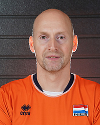07-10-2017 NED: Portret zitvolleybalteam Oranje mannen 2017-2018, Doorn<br /> Nederland bereidt zich voor op het komende EK zitvolleybal / Geert van den Heuvel