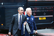 Nottingham Forest manager Martin O'Neill arrives at the City Ground during the EFL Sky Bet Championship match between Nottingham Forest and Bristol City at the City Ground, Nottingham, England on 19 January 2019.
