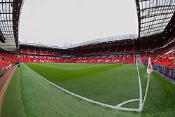 MANCHESTER, ENGLAND - Sunday, March 16, 2014: A general view of Manchester United's Old Trafford ahead of the Premiership match against Liverpool at Old Trafford. (Pic by David Rawcliffe/Propaganda)