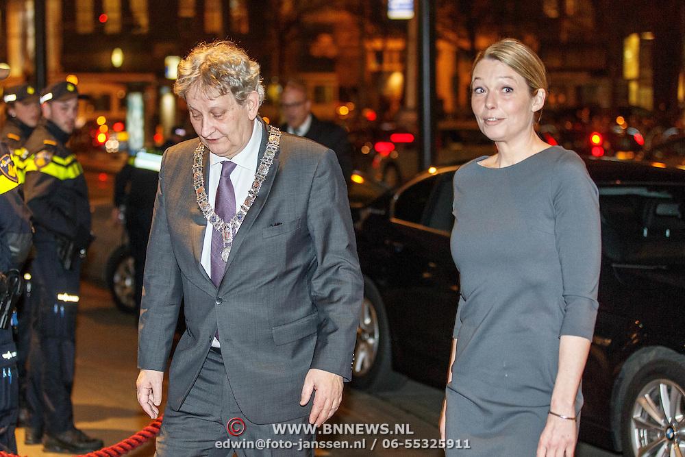 Koning En Koningin Bij Afscheidsconcert Mariss Jansons