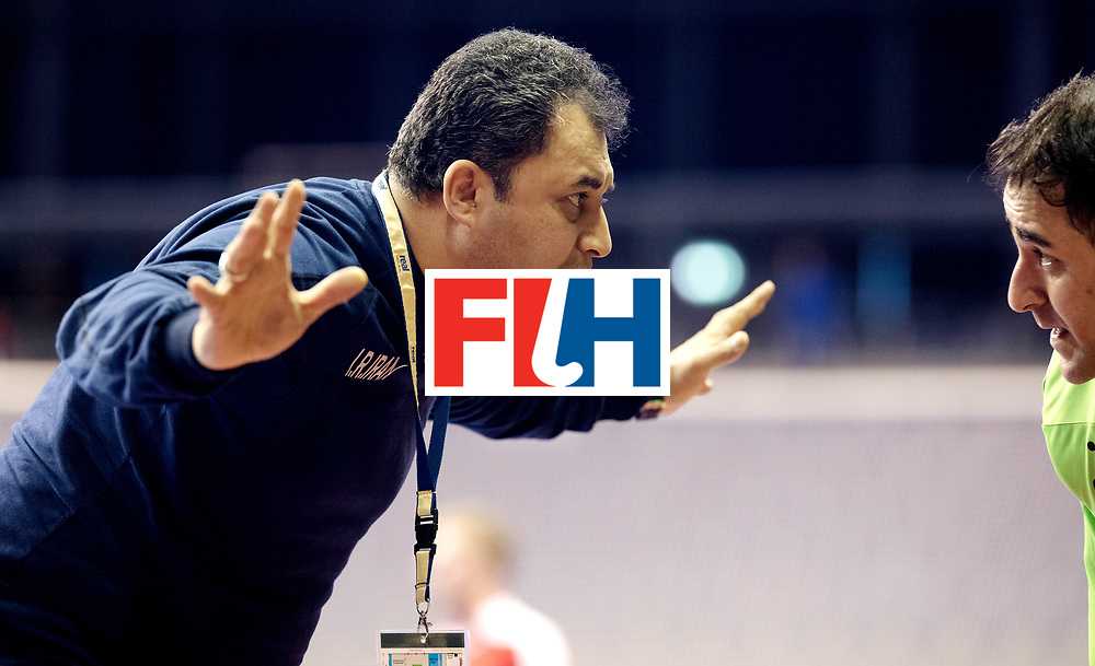 BERLIN - Indoor Hockey World Cup<br /> Men: Iran - Austria<br /> foto: SAFAEI Esfandyar.<br /> WORLDSPORTPICS COPYRIGHT FRANK UIJLENBROEK