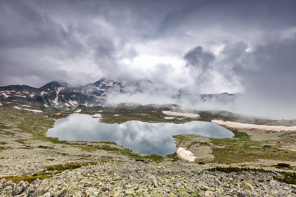 Tevno lake in Pirin Mountain