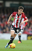 Brentford forward Sergi Canos during the Sky Bet Championship match between Brentford and Brighton and Hove Albion at Griffin Park, London, England on 26 December 2015.