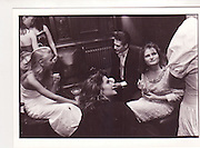 Alexandra Hoogeweegen; Josh Astor; Susannah Baker-Smith. Cooke dance, Savile club, London. 1986.