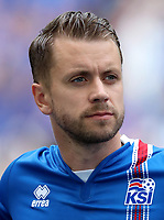 Uefa - World Cup Fifa Russia 2018 Qualifier / <br /> Iceland National Team - Preview Set - <br /> Kari Arnason