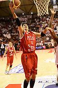DESCRIZIONE : Pistoia Lega serie A 2013/14  Giorgio Tesi Group Pistoia Pesaro<br /> GIOCATORE : pecile andrea<br /> CATEGORIA : sottomano<br /> SQUADRA : Pesaro Basket<br /> EVENTO : Campionato Lega Serie A 2013-2014<br /> GARA : Giorgio Tesi Group Pistoia Pesaro Basket<br /> DATA : 24/11/2013<br /> SPORT : Pallacanestro<br /> AUTORE : Agenzia Ciamillo-Castoria/M.Greco<br /> Galleria : Lega Seria A 2013-2014<br /> Fotonotizia : Pistoia  Lega serie A 2013/14 Giorgio  Tesi Group Pistoia Pesaro Basket<br /> Predefinita :