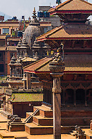 Durbar Square (A UNESCO World Heritage Site), Patan (Lalitpur), Nepal.