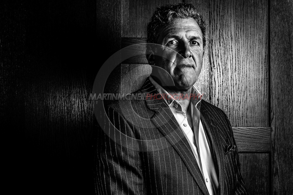LONDON, ENGLAND, MARCH 5, 2014: Gary Cook poses for a portrait inside One Embankment in London, England (Martin McNeil for ESPN)