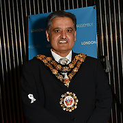 Cllr Ben Khosa attend Awareness gala hosted by the Health Committee with live music and poetry performances at City Hall at The Queen's Walk, London, UK. 18 March 2019.