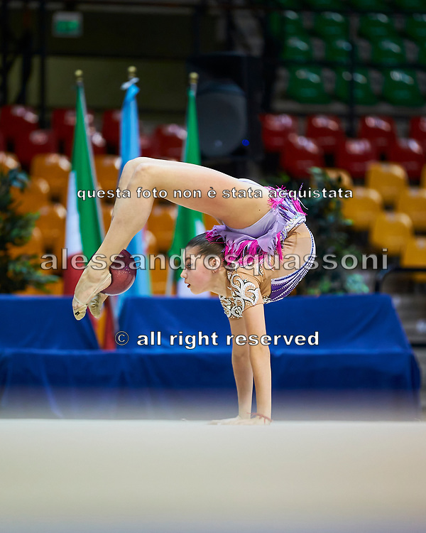"Veronika Hudis of Azerbaijan Team during the ""7th tournament city of Desio"", 09 March 2019."