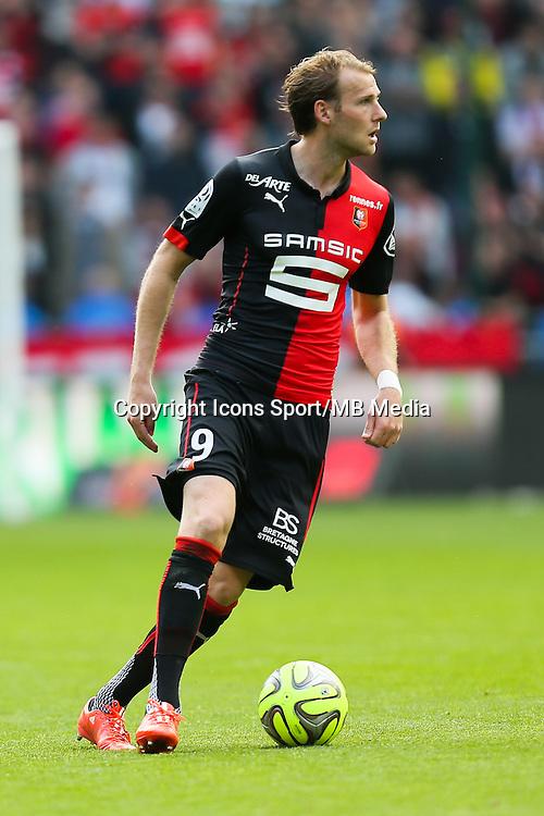 Ola TOIVONEN - 12.04.2015 - Rennes / Guingamp - 32eme journee de Ligue 1 <br /> Photo : Vincent Michel / Icon Sport