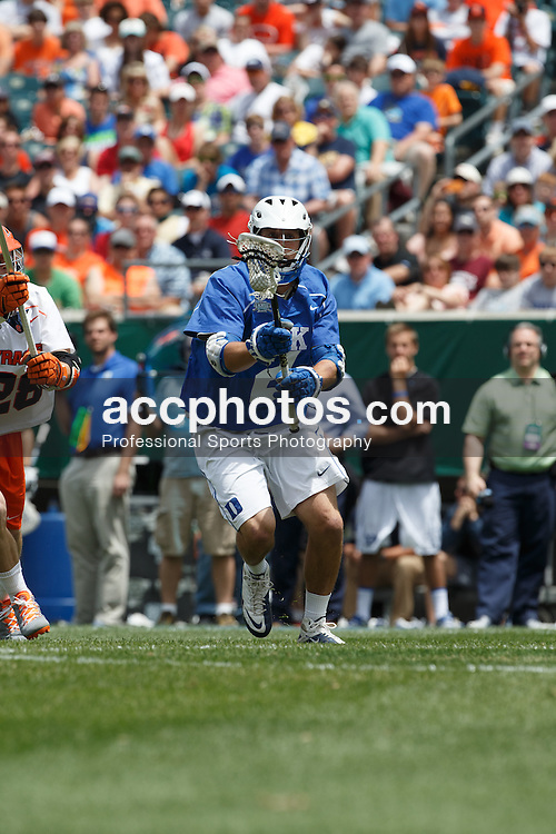 2013 May 27: David Lawson #2 of the Duke Blue Devils during a 16-10 win over the Syracuse Orange to win the NCAA national championship at Lincoln Financial Field in Philadelphia, PA.