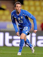 Fussball International, Italienische Nationalmannschaft  Italien - Kamerun 03.03.2010 Gian Paolo Pazzini (ITA)