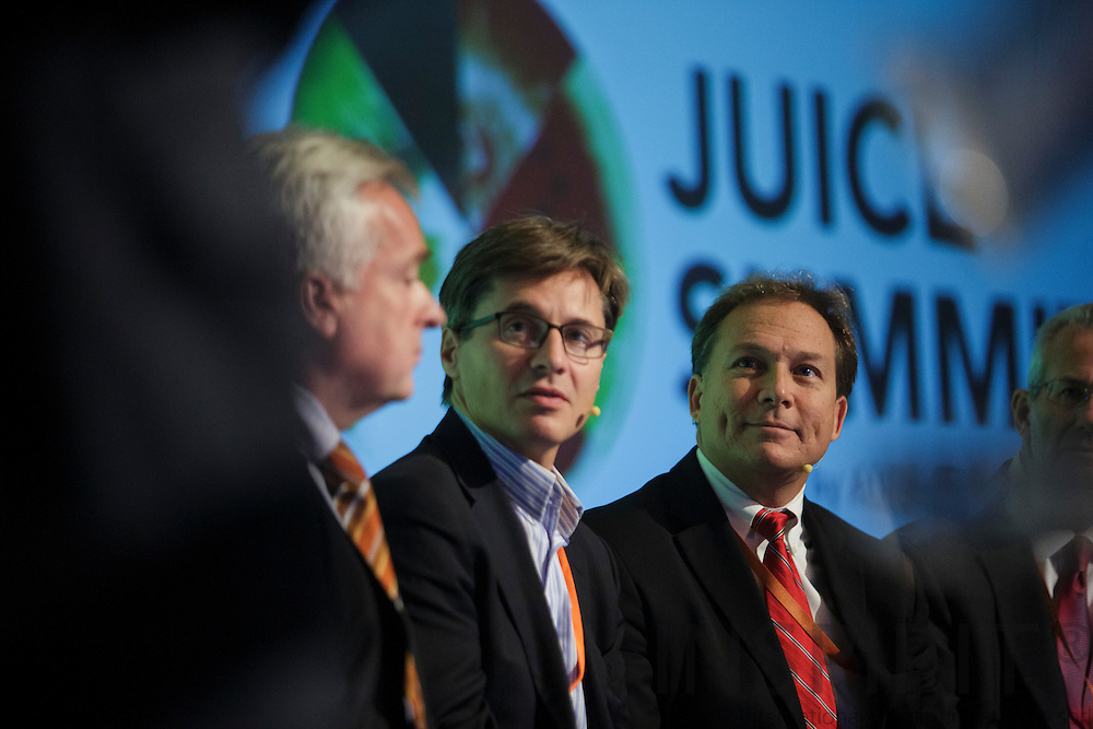 Second days panel discussion: The Sequel at the Juice Summit in Antwerp 15 - 16 October 2014. Photo: Erik Luntang