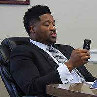 While broadcasting the meeting on Facebook Live, Mayor Maurice Howard sticks up for himself during discussion leading to his second salary cut in a month and a half last week.
