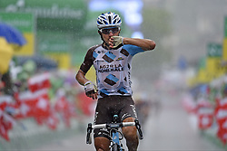 June 16, 2017 - Locarno / La Punt, Schweiz - POZZOVIVO Domenico (ITA) Rider of Team AG2R La Mondiale during stage 6 of the Tour de Suisse cycling race, a stage of 166 kms between Locarno and La Punt on June 15, 2017 in La Punt, Switserland, 15/06/2017  (EQ Images) SWITZERLAND ONLY (Credit Image: © Vincent Kalut/EQ Images via ZUMA Press)