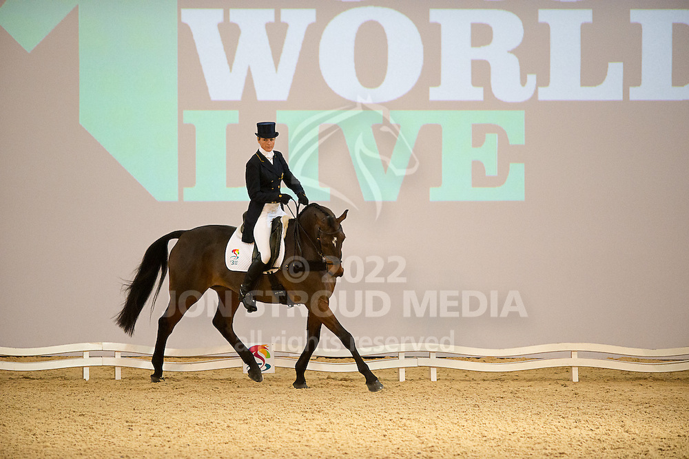 Lucinda Fredericks (AUS) & Flying Finish - Dressage - Express Eventing - Horse World Live - ExCel London - 17 November 2012