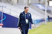 KIELCE, POLEN 2017-06-15<br /> H&aring;kan Ericsson under U21 landslagets aktivitet p&aring;  Arena Kielce den 15 juni 2017.<br /> Foto: Nils Petter Nilsson/Ombrello<br /> Fri anv&auml;ndning f&ouml;r kunder som k&ouml;pt U21-paketet.<br /> Annars Betalbild.<br /> ***BETALBILD***