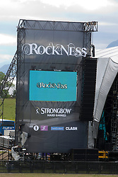 Rockness speakers at the main stage..Rockness, Friday 11th June..Pic ©2010 Michael Schofield. All Rights Reserved.