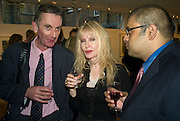 GARY MCKEONE, SHERE HITE AND SANJ KANDAVEL, Andrew Hosken - book launch party for 'Ken'<br />
