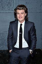 Joe Keery attends the premiere of IFC Films' 'The Tribes of Palos Verdes' at The Theatre at Ace Hotel on November 17, 2017 in Los Angeles, California. Photo by Lionel Hahn/AbacaPress.com