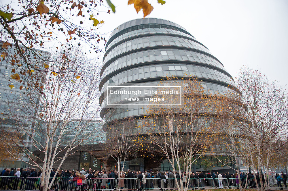 Mayor's questions at City hall were interrupted today and the building was evacuated as emergency evacuation. People assembled at the rear of the building. <br /> <br /> Richard Hancox | EEm 22112018