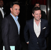 LONDON - July 12: Ant & Dec at the ITV Summer Party (Photo by Brett D.Cove)