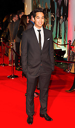 © London News Pictures. 07/11/2013. London, UK. Chris Chung attending Virgin Media Shorts, BFI IMAX. Photo Credit: Raimondas Kazenas/LNP