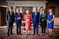 13-6-2017 AMSTERDAM - Princess Beatrix of the Netherlands is hosting the Silver Anniversary of the Prince Bernhard Culture Fund in the Royal Palace Amsterdam on Wednesday, June 14, 2017. The awards are awarded to Jan Buisman from The Hague, Elise Wessels - van Houdt from Amsterdam and Pieter Breuker from Feanwâlden. COPYRIGHT ROBIN UTRECHTPrincess Beatrix of the Netherlands attends the award ceremony of the Zilveren Anjers of the Prince Bernhard Culture Foundation in the Royal Palace in Amsterdam, The Netherlands, 14 June 2017. Winners of this year are Jan Buisman, Elise Wessels - van Houdt and Pieter Breuker for their volunteer work for culture and nature in The Netherlands<br /> <br /> 13-6-2017 AMSTERDAM - Prinses Beatrix der Nederlanden reikt woensdagochtend 14 juni 2017 de Zilveren Anjers van het Prins Bernhard Cultuurfonds uit in het Koninklijk Paleis Amsterdam. De onderscheidingen worden uitgereikt aan Jan Buisman uit Den Haag, Elise Wessels - van Houdt uit Amsterdam en Pieter Breuker uit Feanwâlden. COPYRIGHT ROBIN UTRECHT